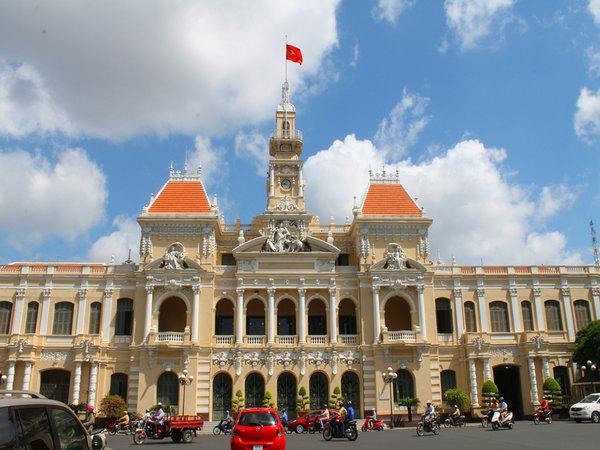 越南胡志明市市政厅